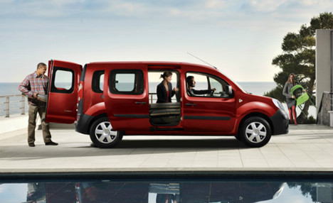renault kangoo maxi ze 5 zitplaatsen prijs specs. Black Bedroom Furniture Sets. Home Design Ideas