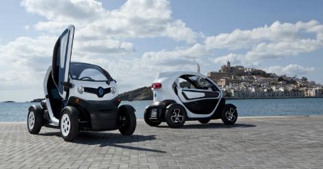Goedkoopste elektrische auto: Renault Twizy