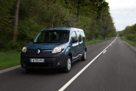 elektrische Renault Kangoo Maxi