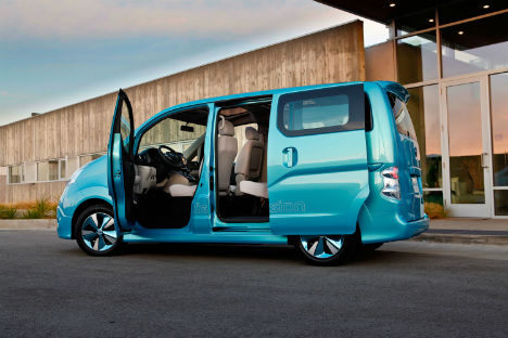 Nissan e-NV200 5 zitplaatsen
