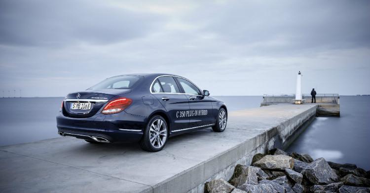 Mercedes C350e plug-in hybride