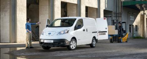 Nissan e-NV200 prijs