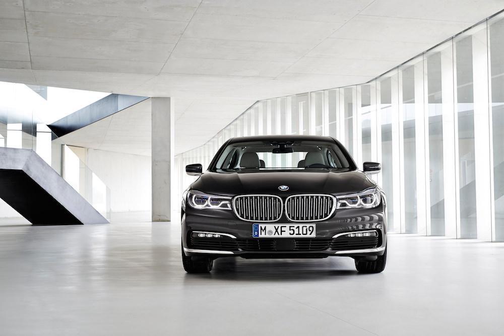 BMW 7 plug-in hybride