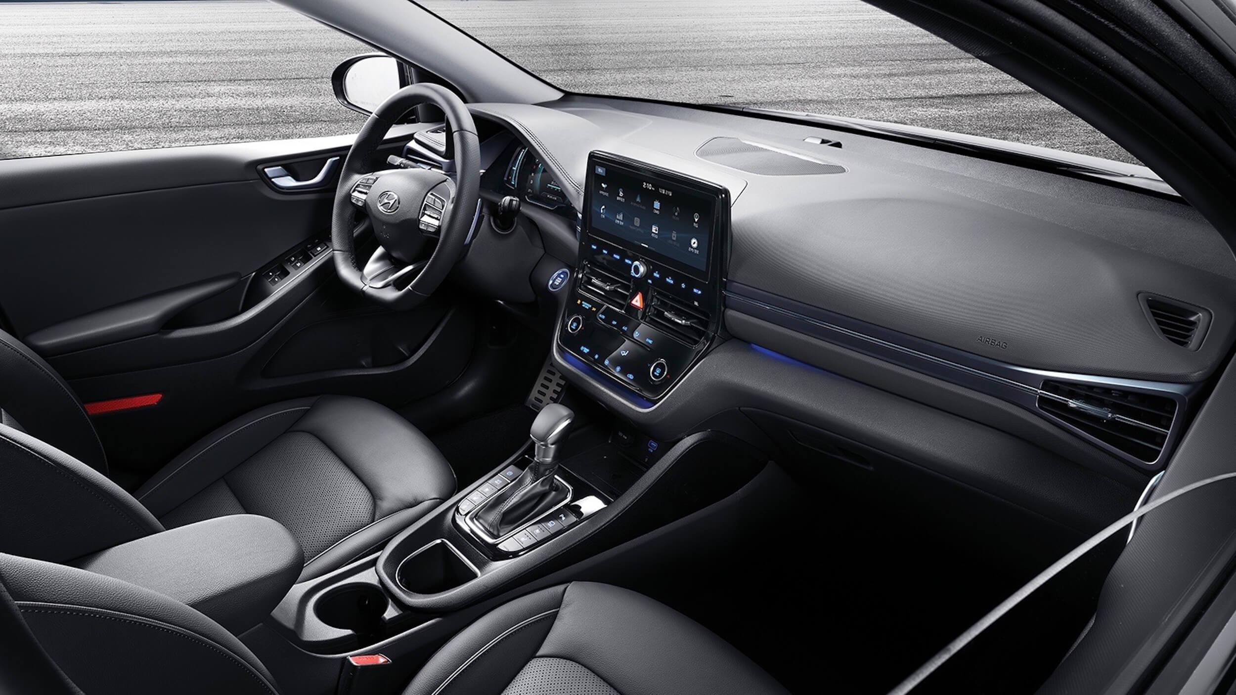 2019 Nieuwe Hyundai Ioniq Interieur
