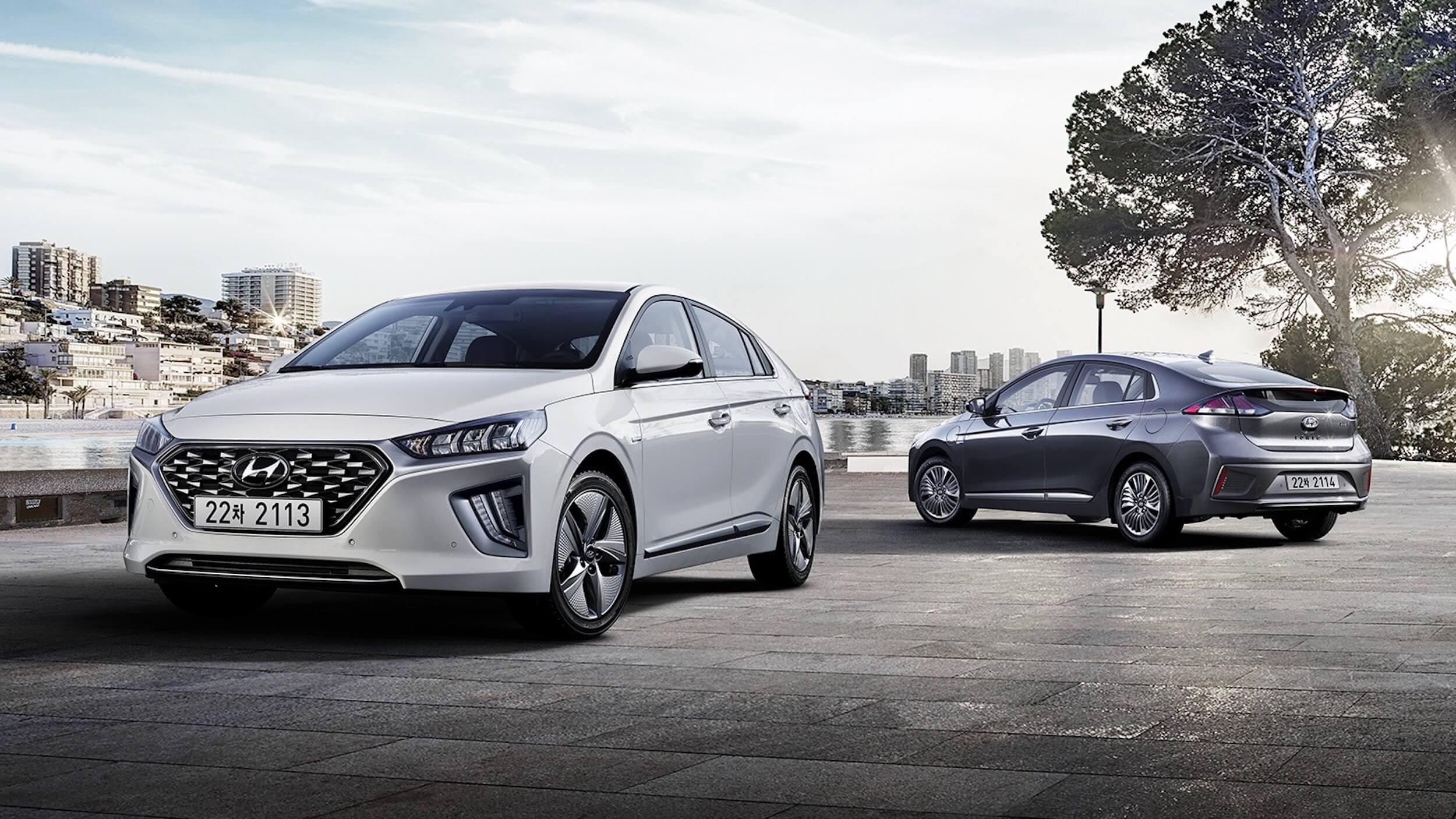 Nieuwe Hyundai Ioniq 2019