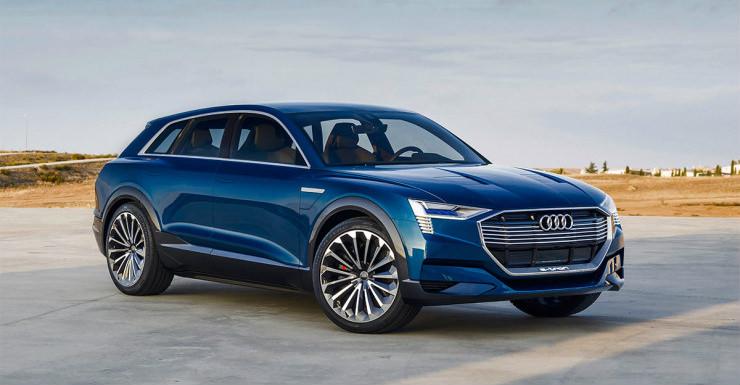 Audi e-tron concept suv