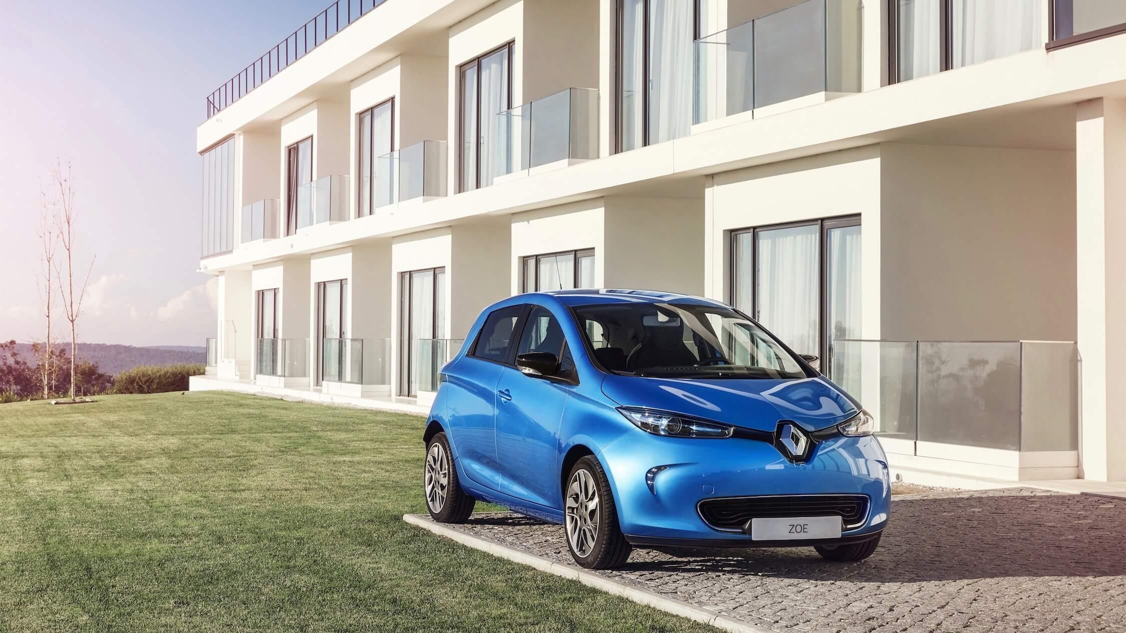 Renault Zoe Blauw