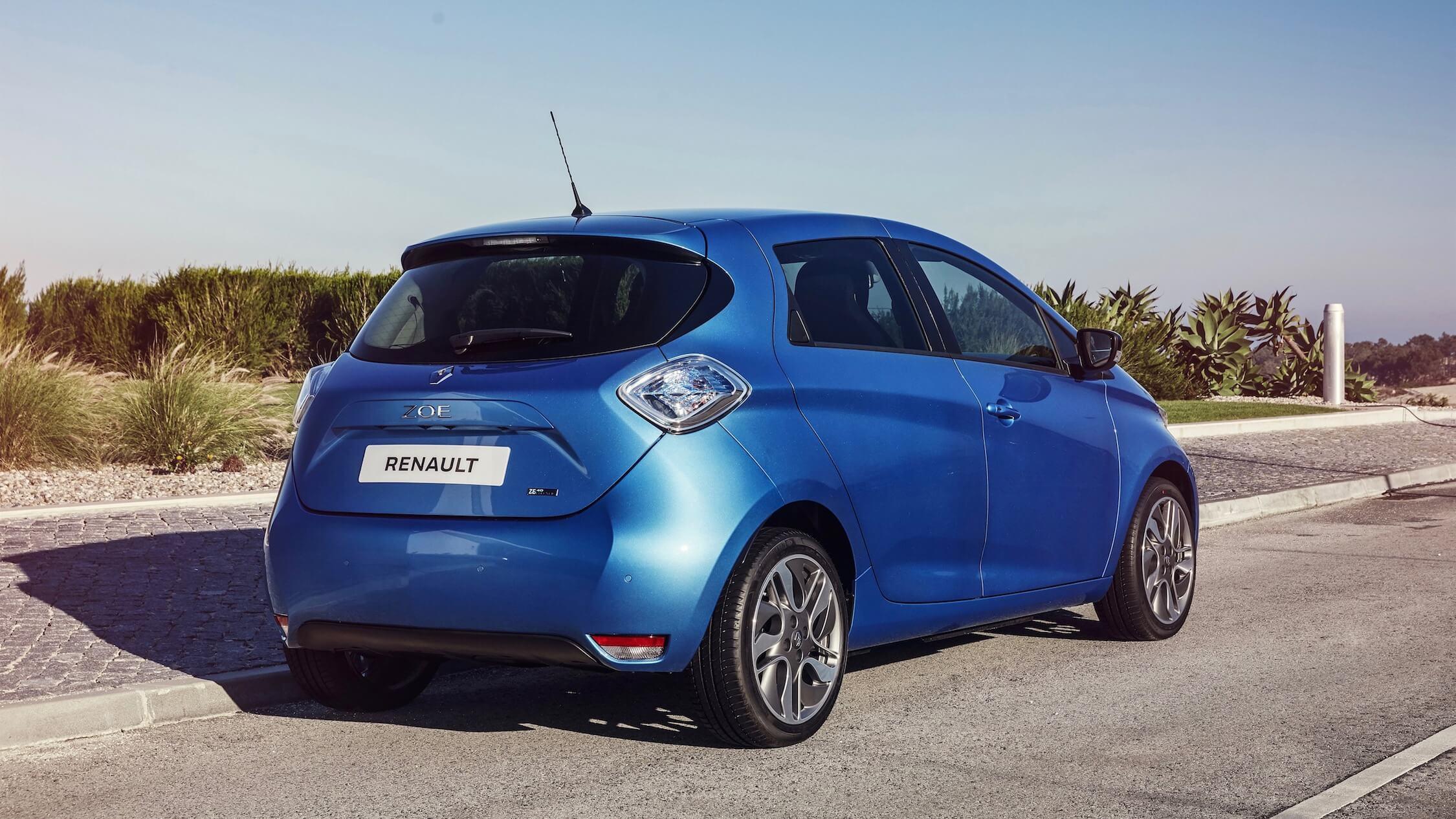 Renault Zoe achterkant
