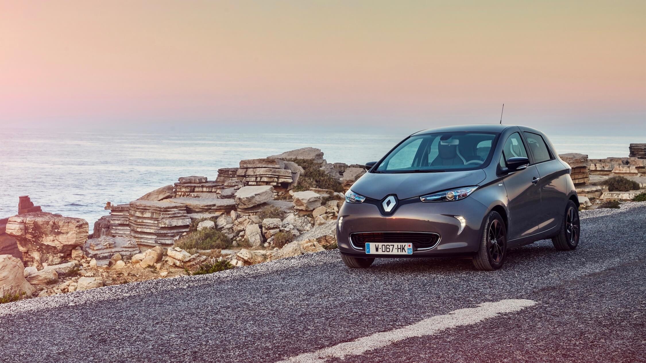 Renault Zoe grijs
