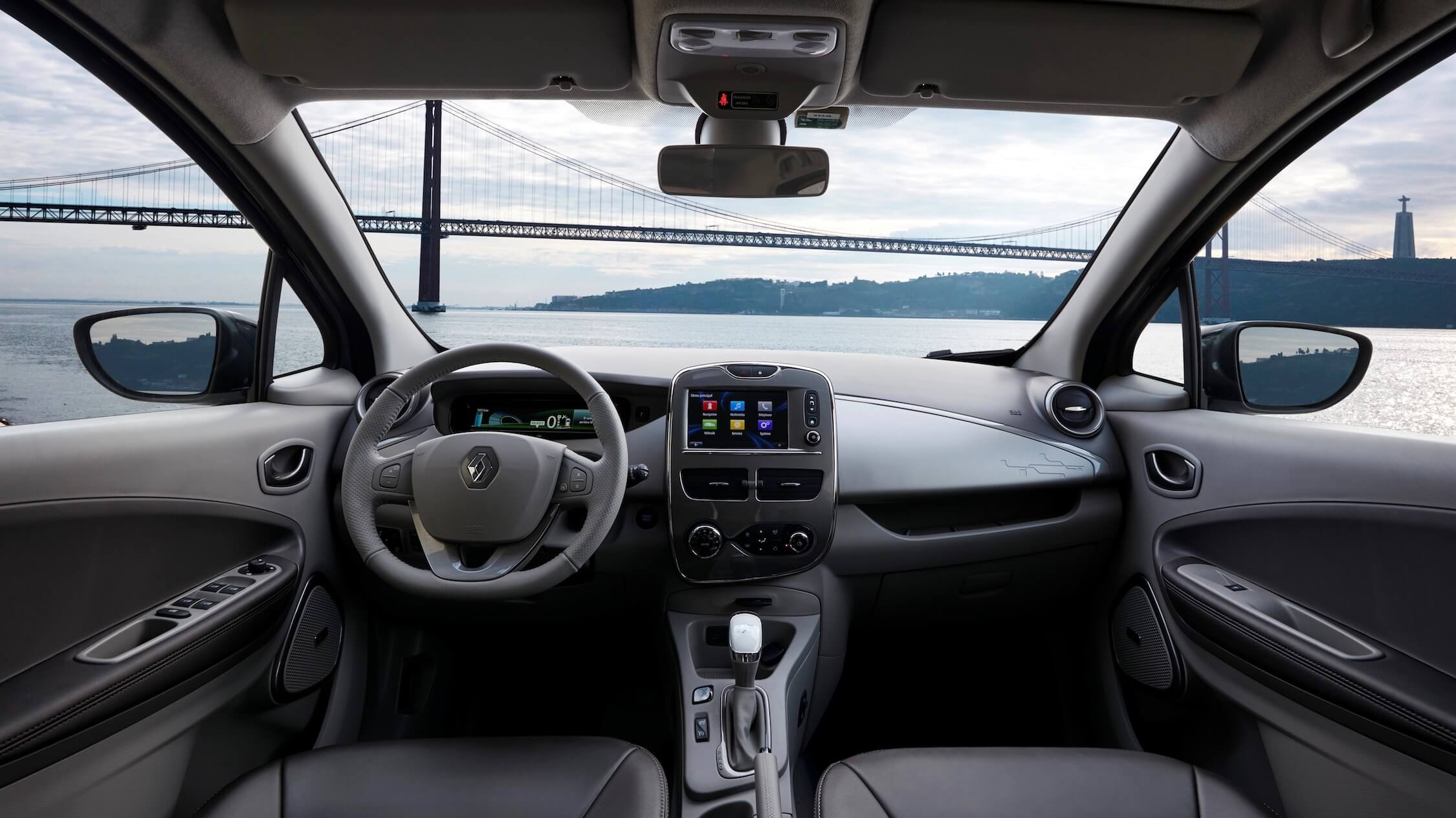 Renault Zoe interieur dashboard