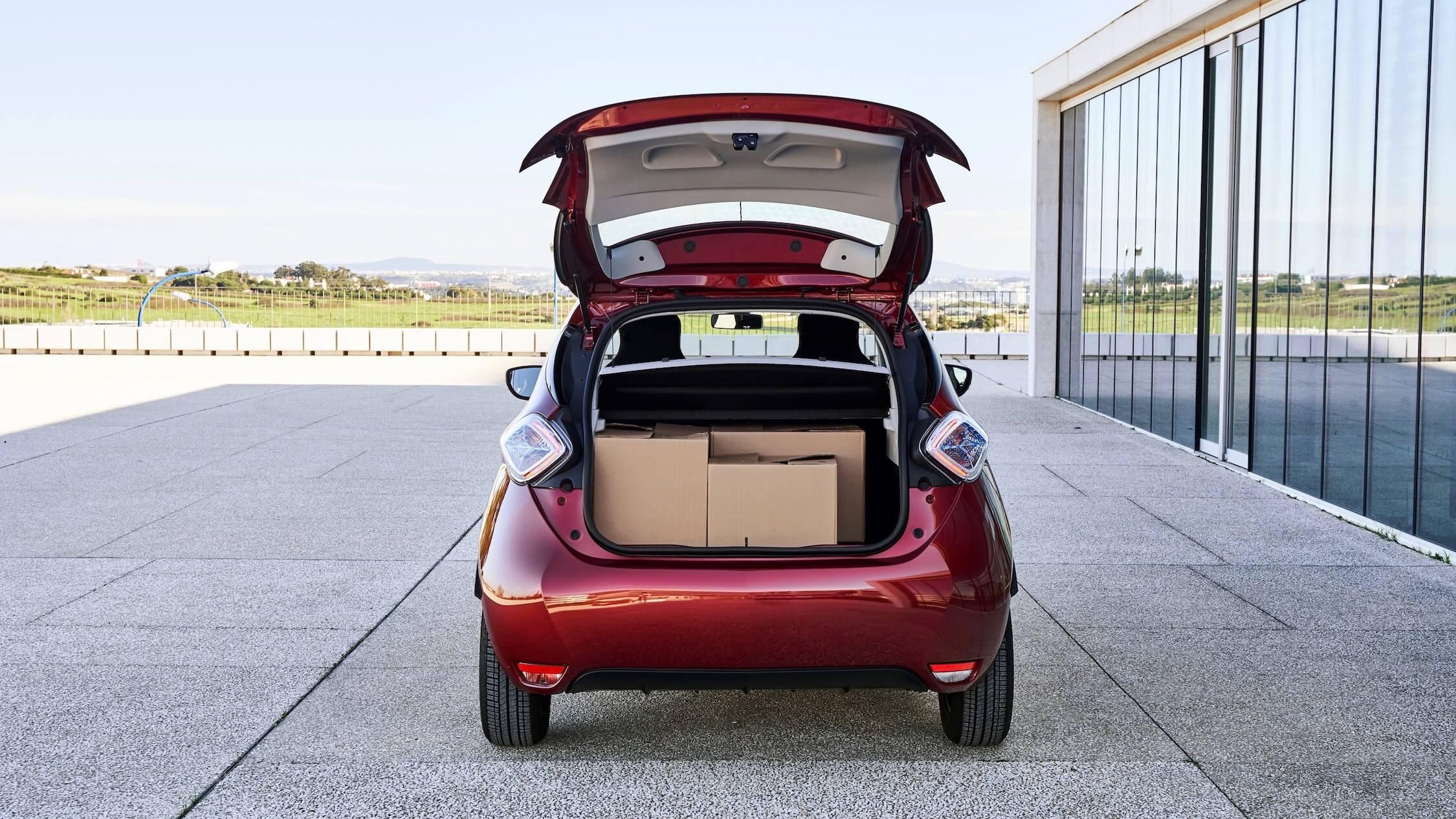 Renault Zoe koffer