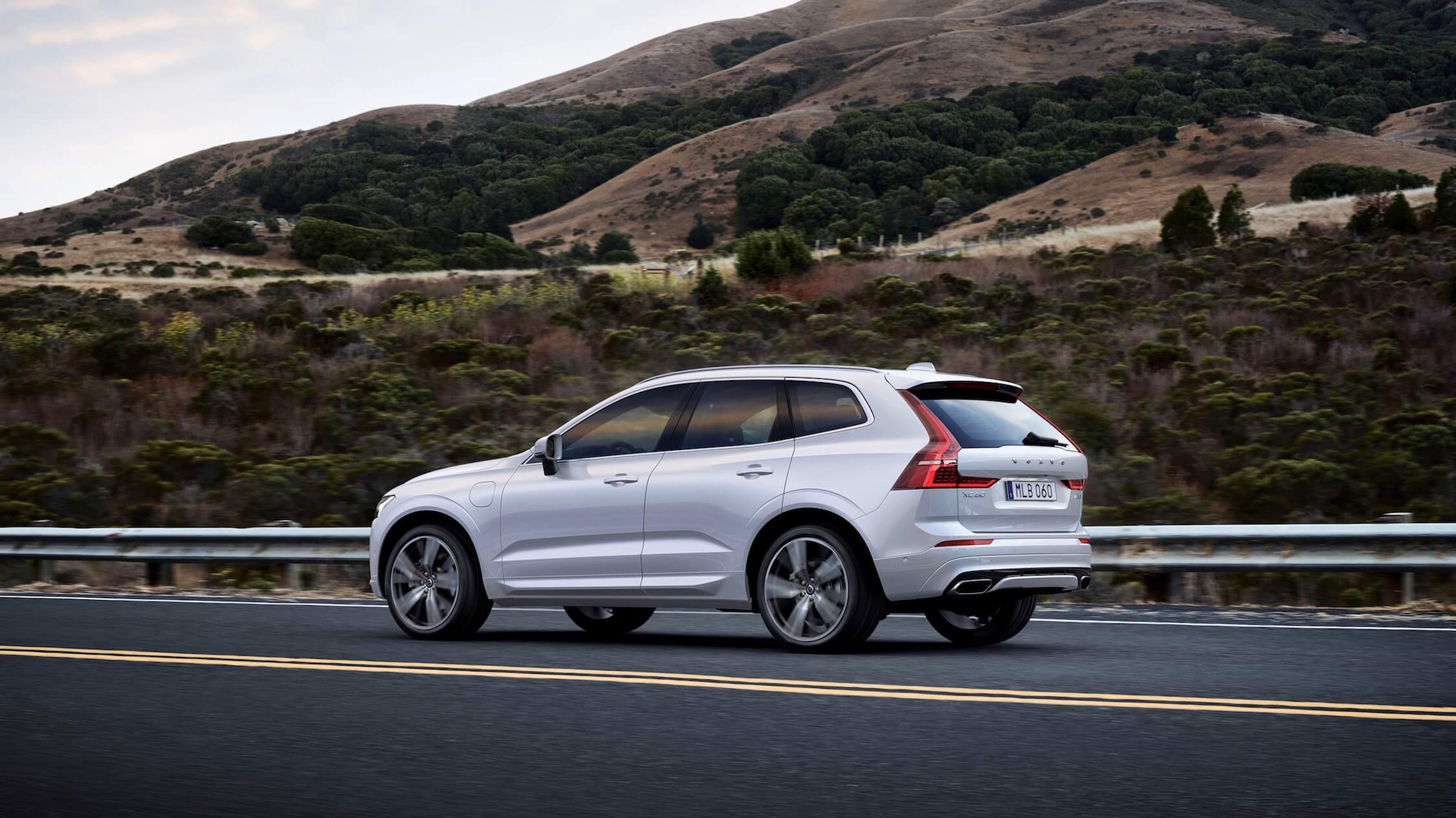 Volvo XC60 three-quarter view