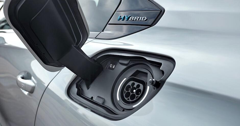 plug-in hybride wagen