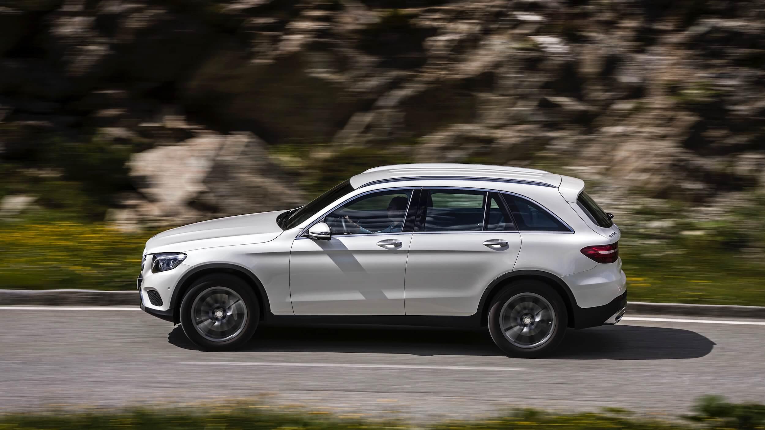 Mercedes GLC 350e grijs