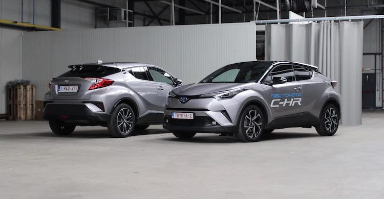 Duotest Toyota C Hr Hybride Vs Benzine
