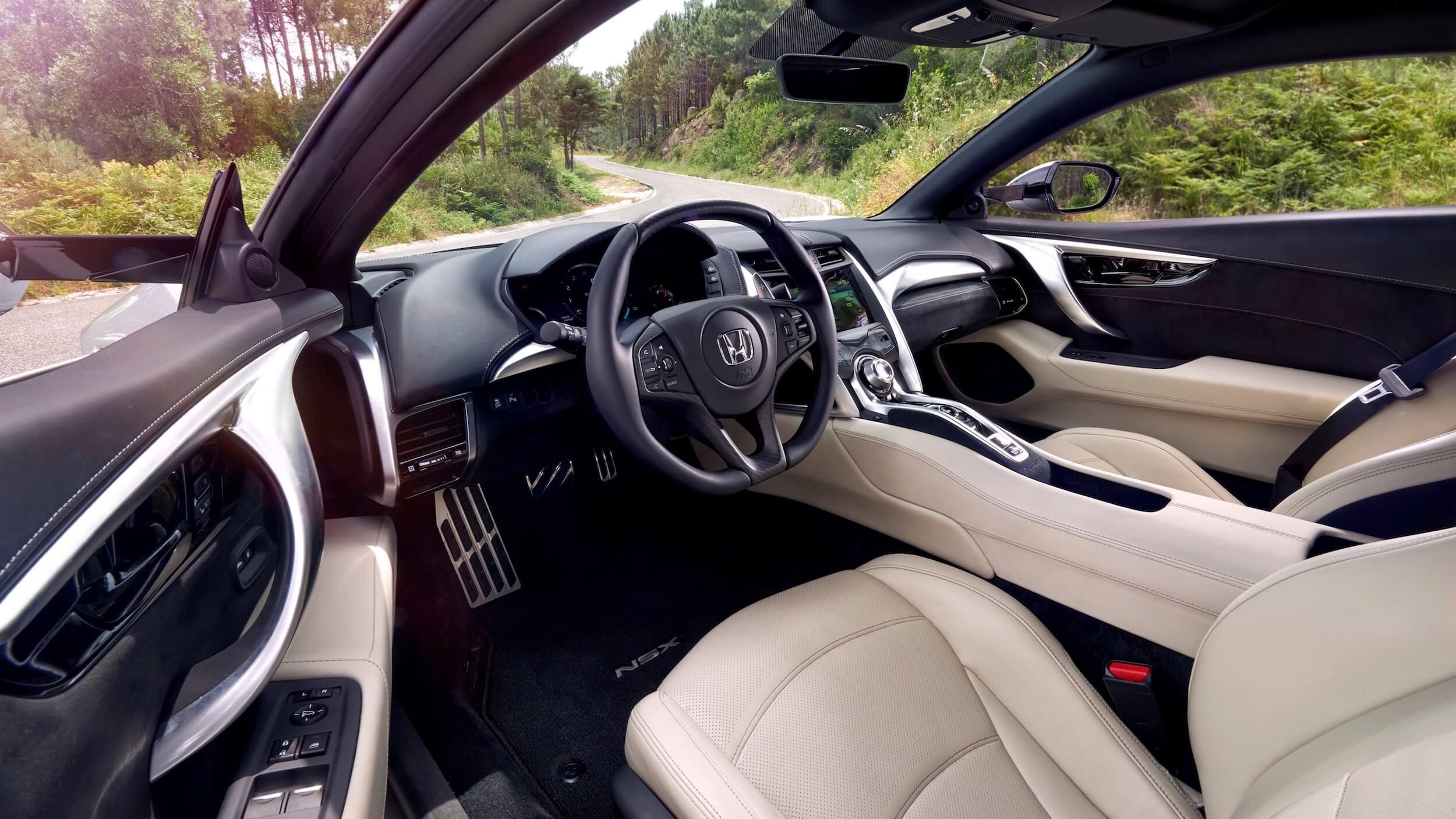 Honda NSX interieur