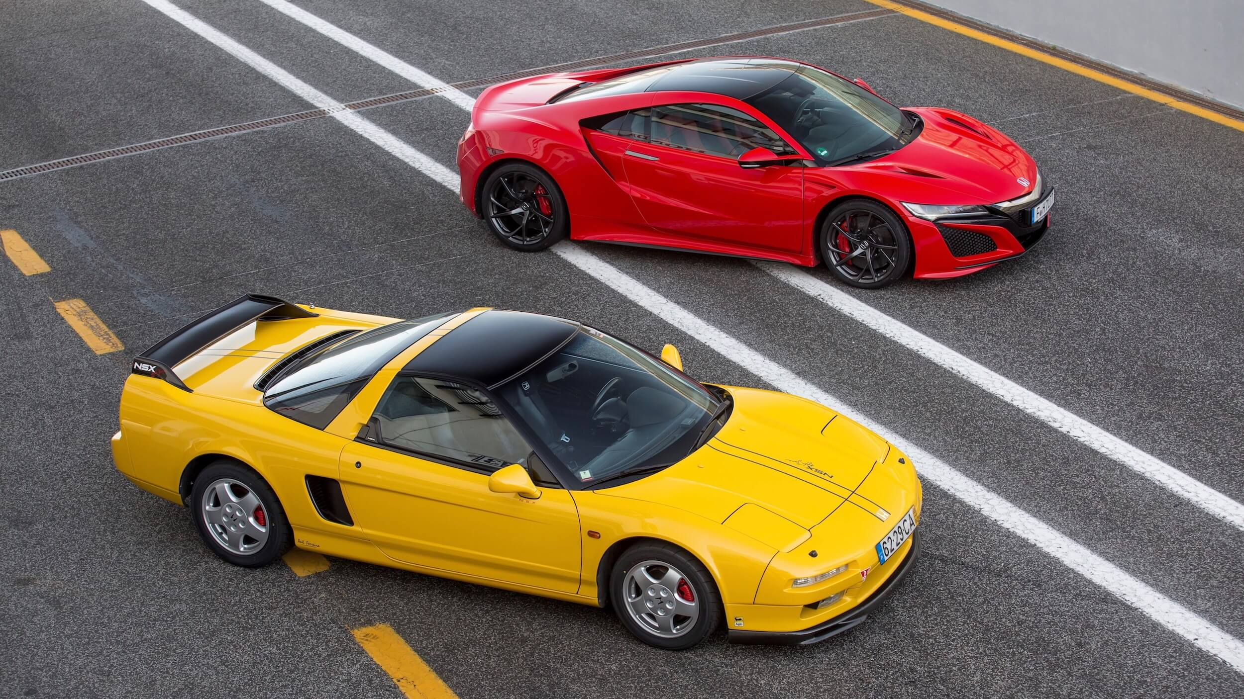 Honda NSX old vs new