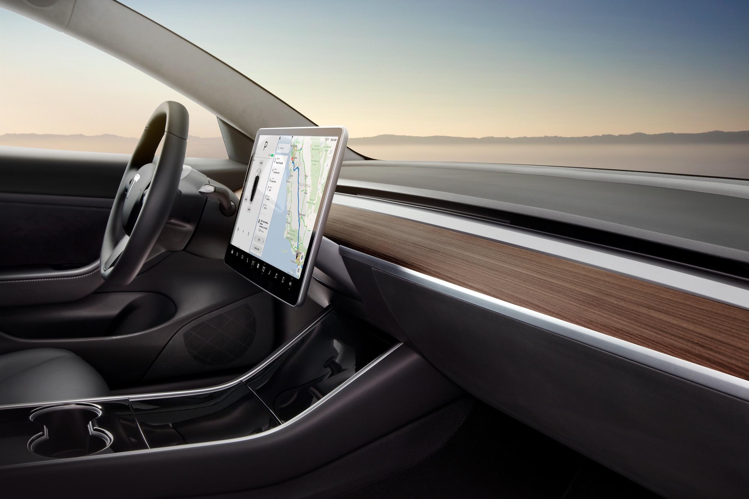 Model 3 Interior Dash – Desert