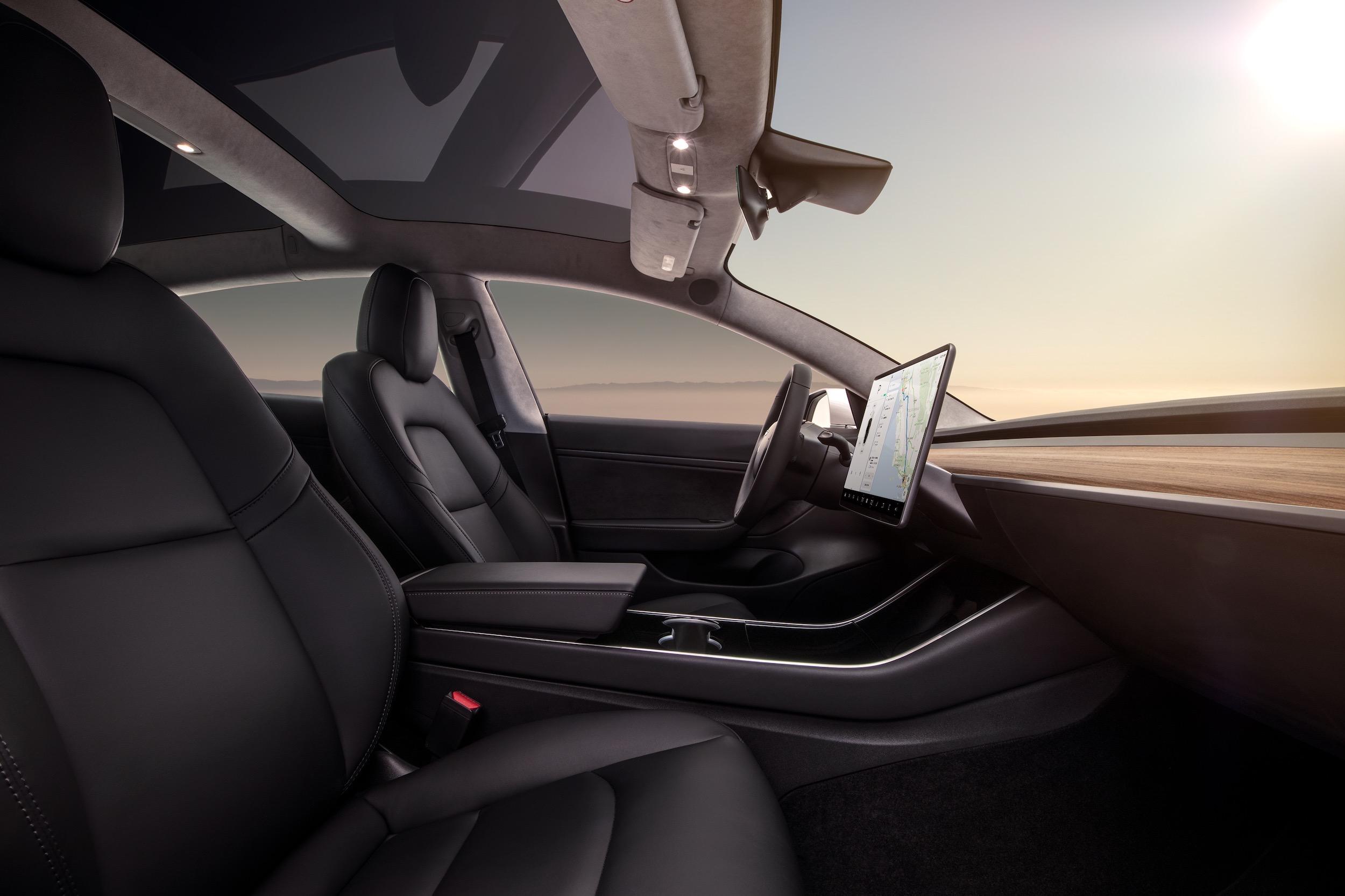 Model 3 Interior Dash – Profile View
