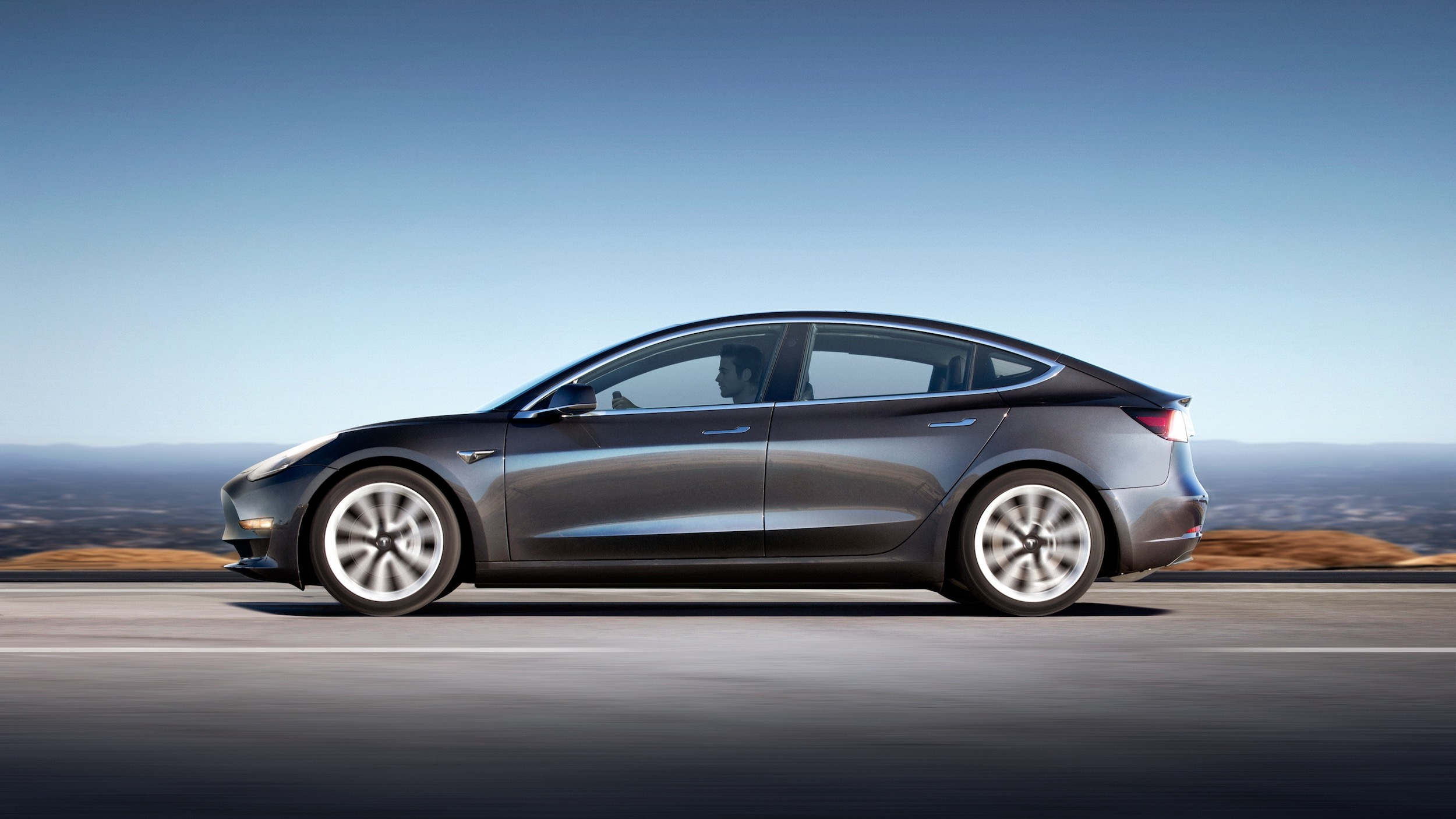 Model 3 Profile Grey New