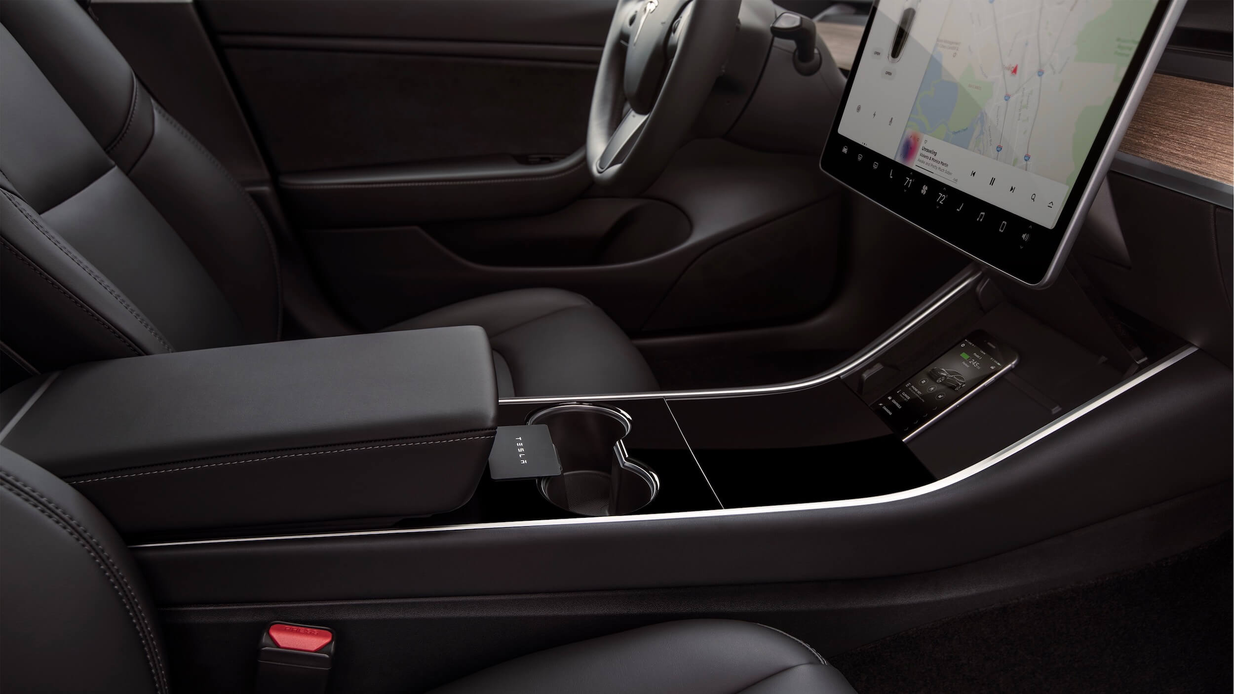 Model 3 middenconsole