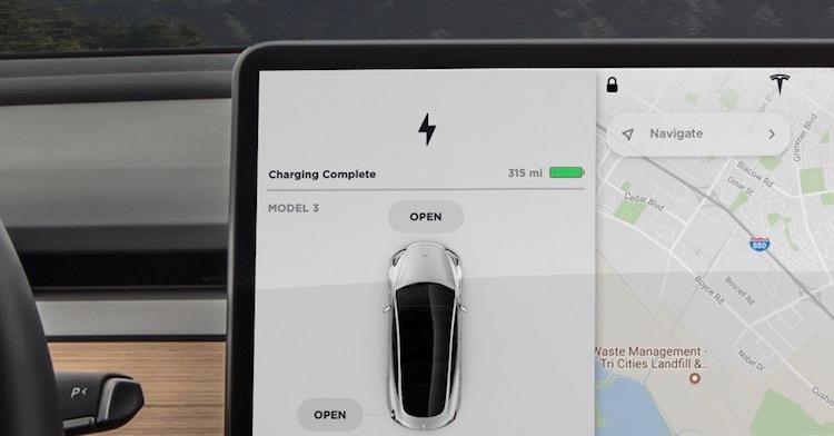 Model 3 rijbereik 2017