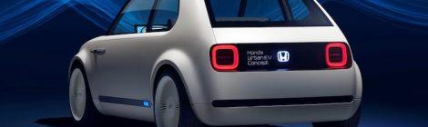 Honda Urban EV elektrische auto
