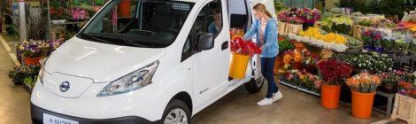 Nissan e-NV200 actieradius