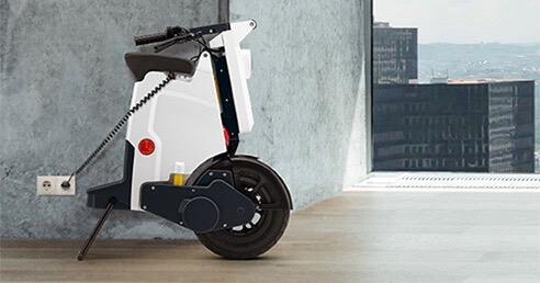 GiGi scooter opladen