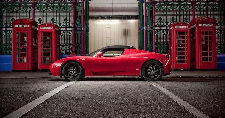 Tesla Roadster S generatie 1