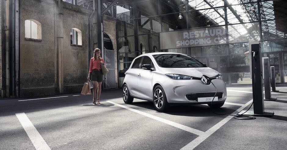 Opladen Renault ZOE