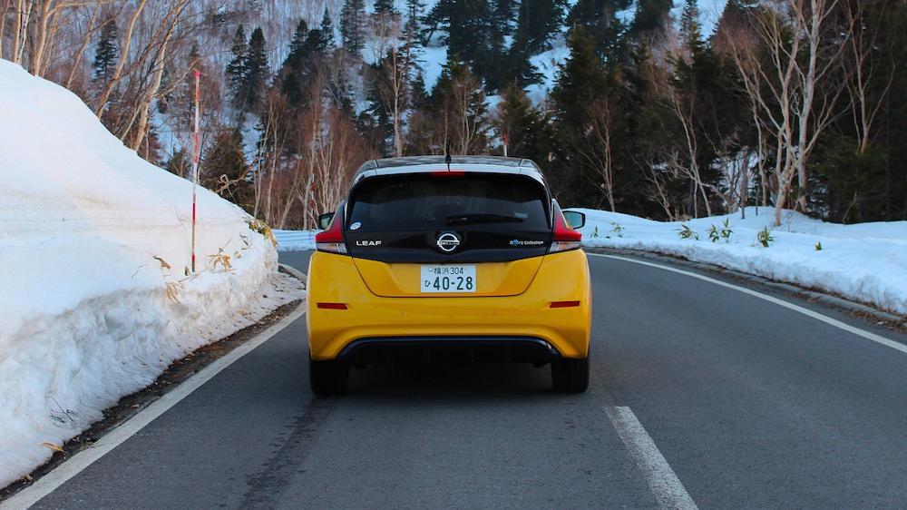 Nissan LEAF achterkant