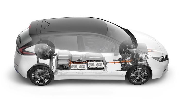 Nissan LEAF batterij 40 kWh