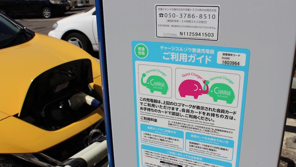 Nissan LEAF opladen