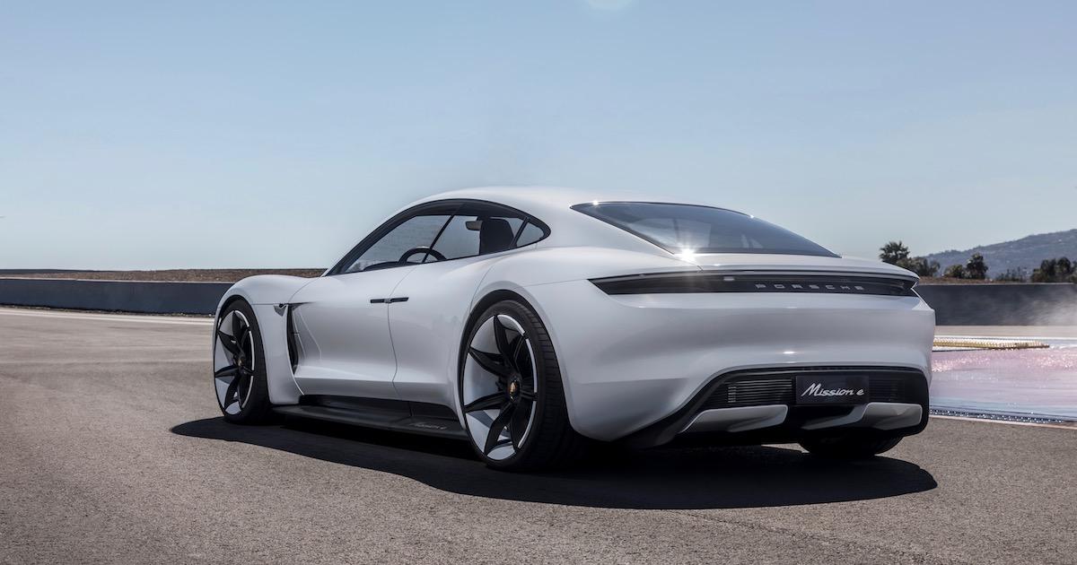 Porsche Taycan foto