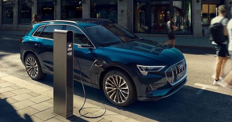 Audi e-tron Parijs