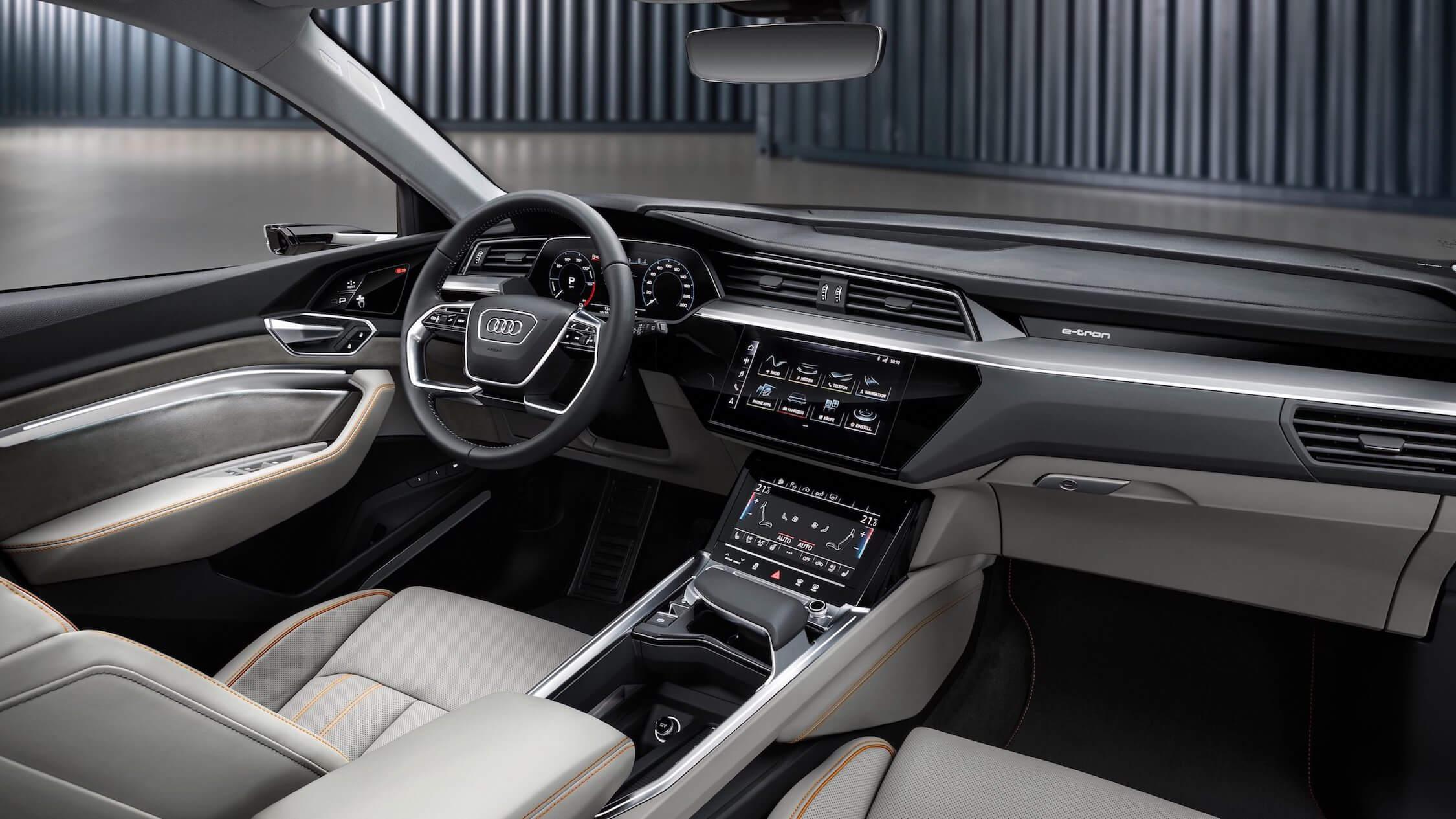 Audi-e-tron-dashboard