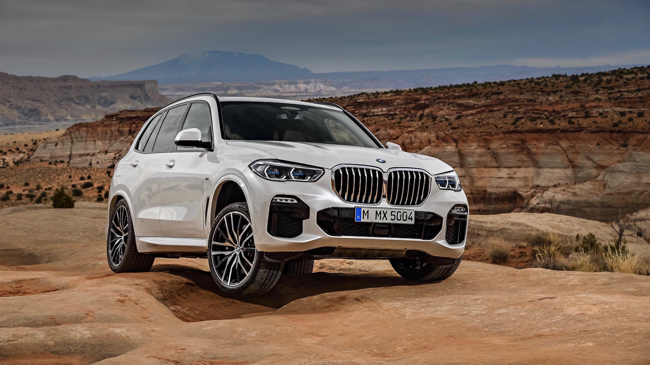 BMW X5 hybride foto's (2019)