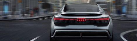 Elektrische Audi sedan