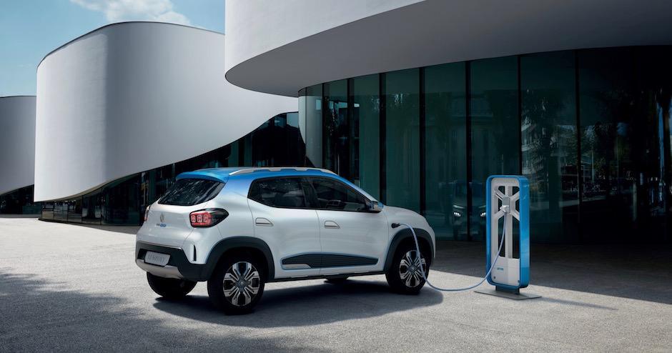 Elektrische Renault K-ZE autosalon Parijs