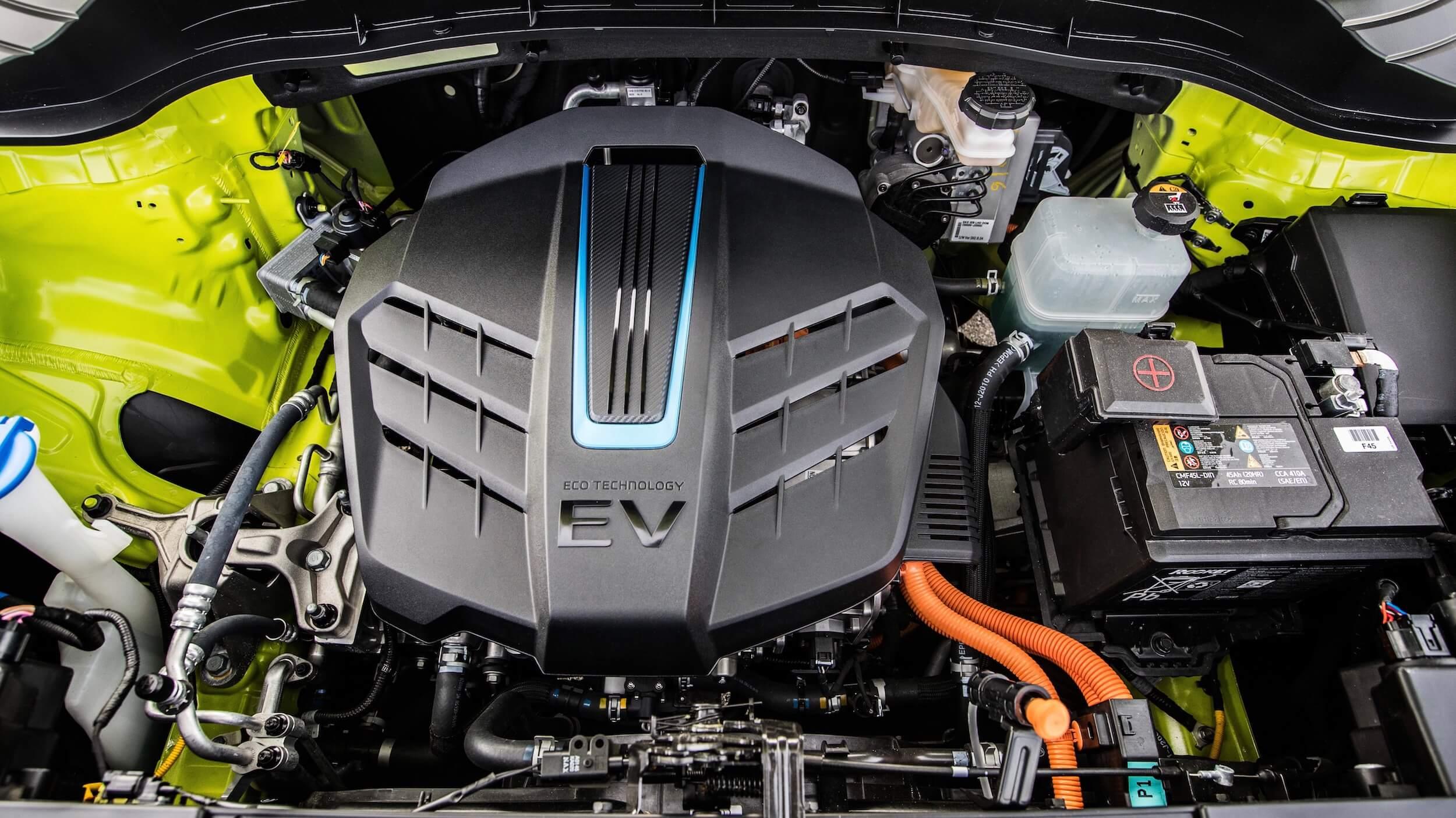 Elektrische Kia Soul EV motor