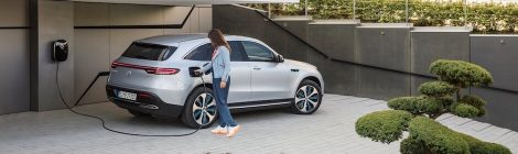 Mercedes EQC elektrische wagen 2019