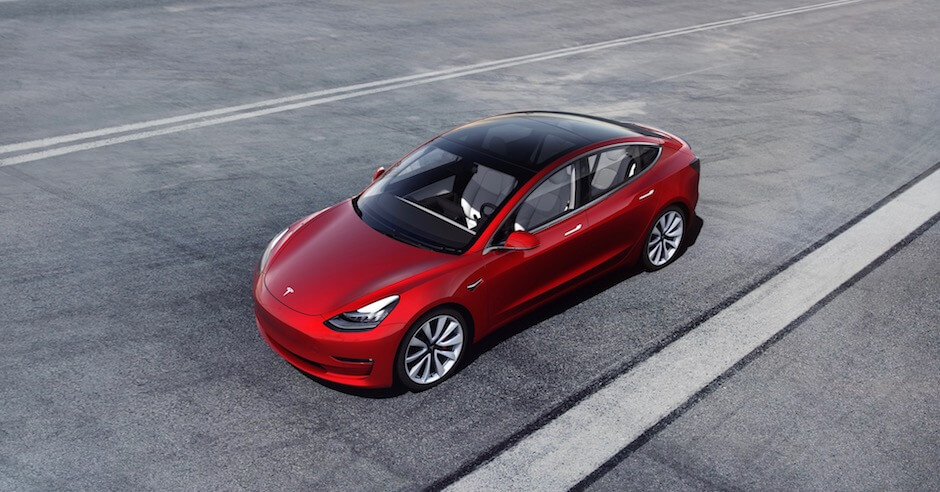 Tesla Model 3 België 2019