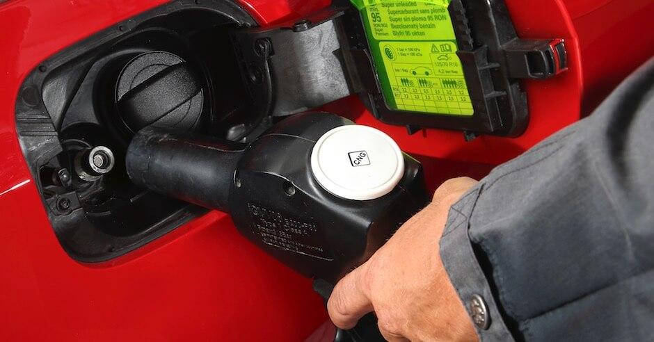 Aardgas CNG tanken