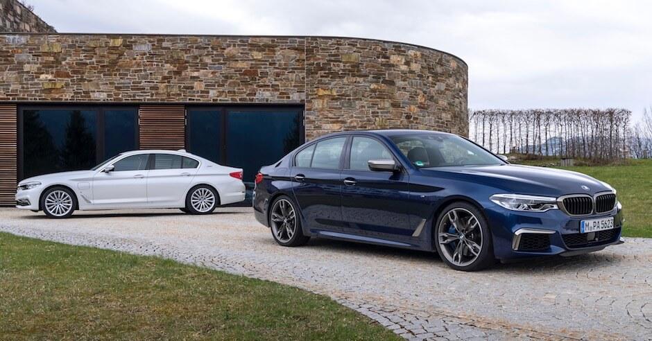 BMW 530e hybride limousine