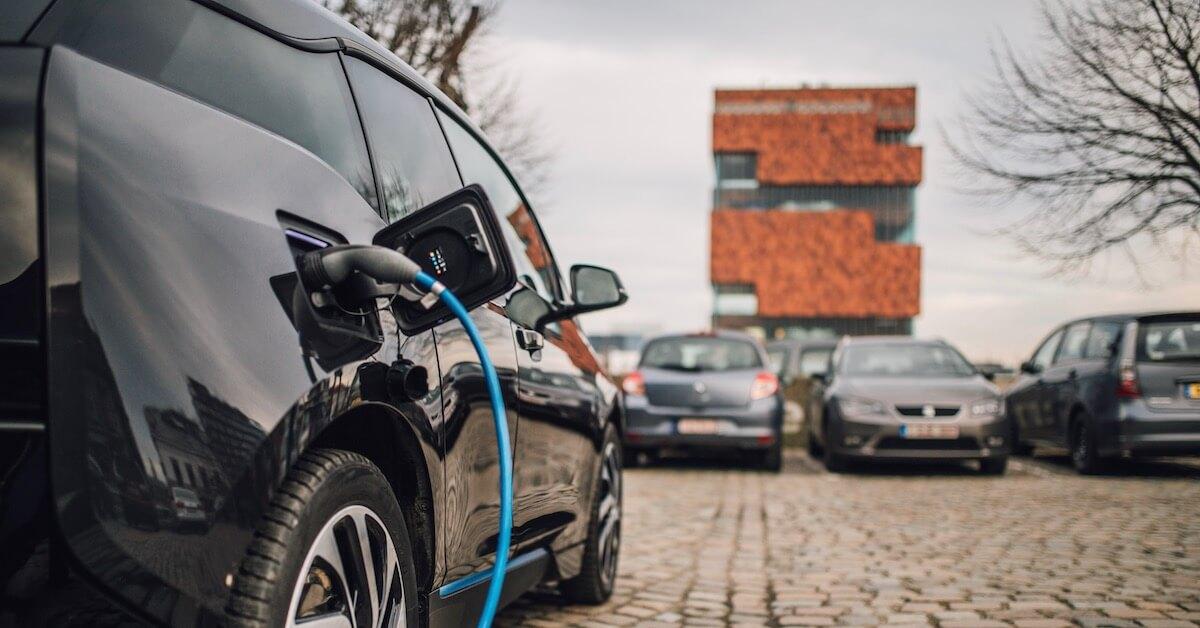 Elektrische auto in Vlaanderen