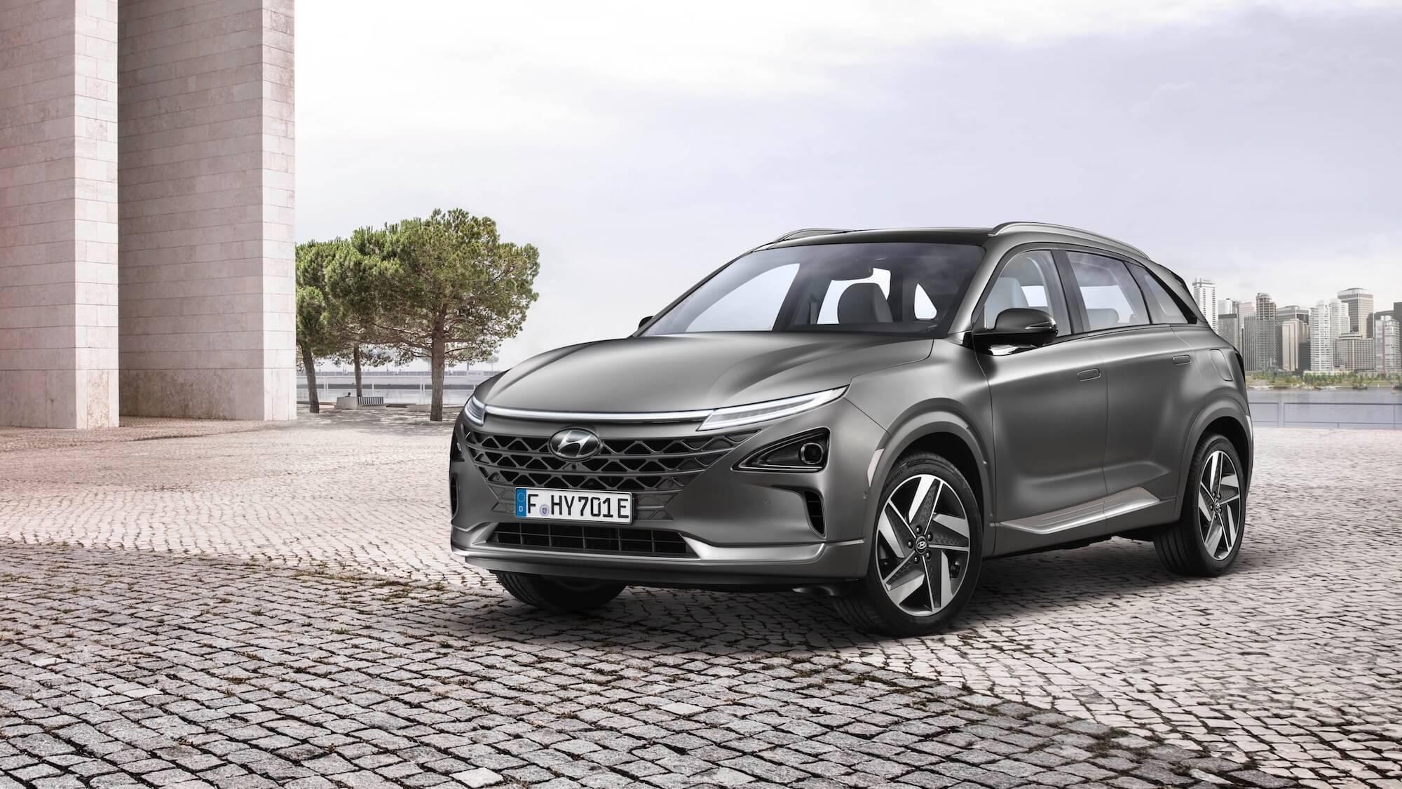 Hyundai Nexo grey