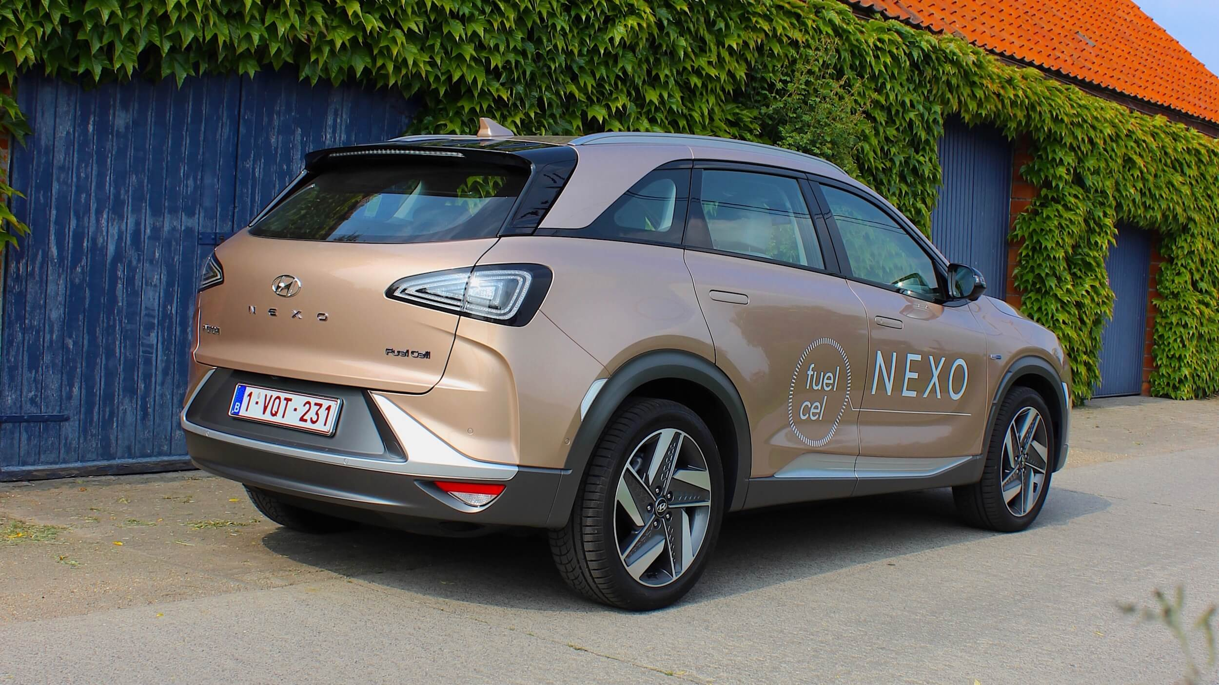 Hyundai Nexo in België 1