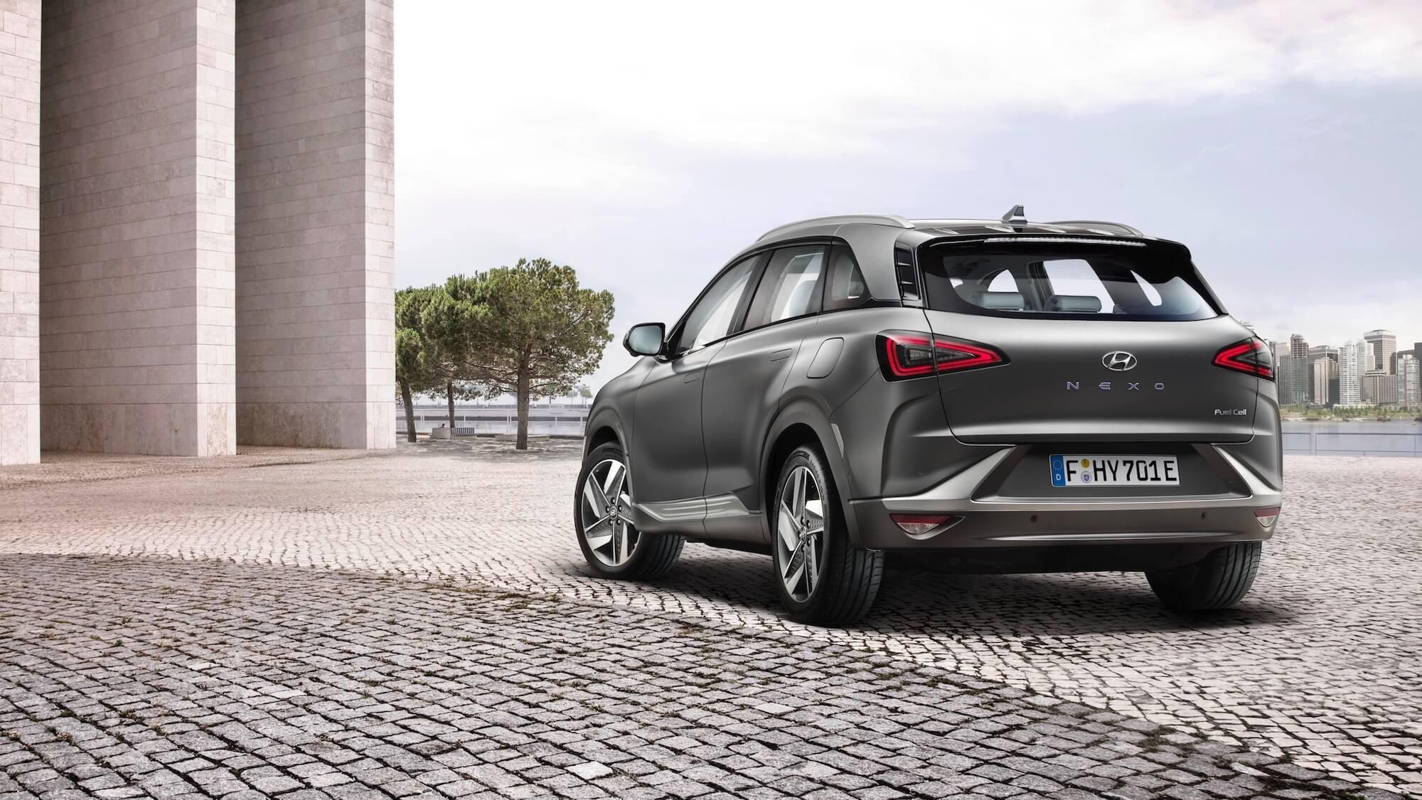 Hyundai op waterstof
