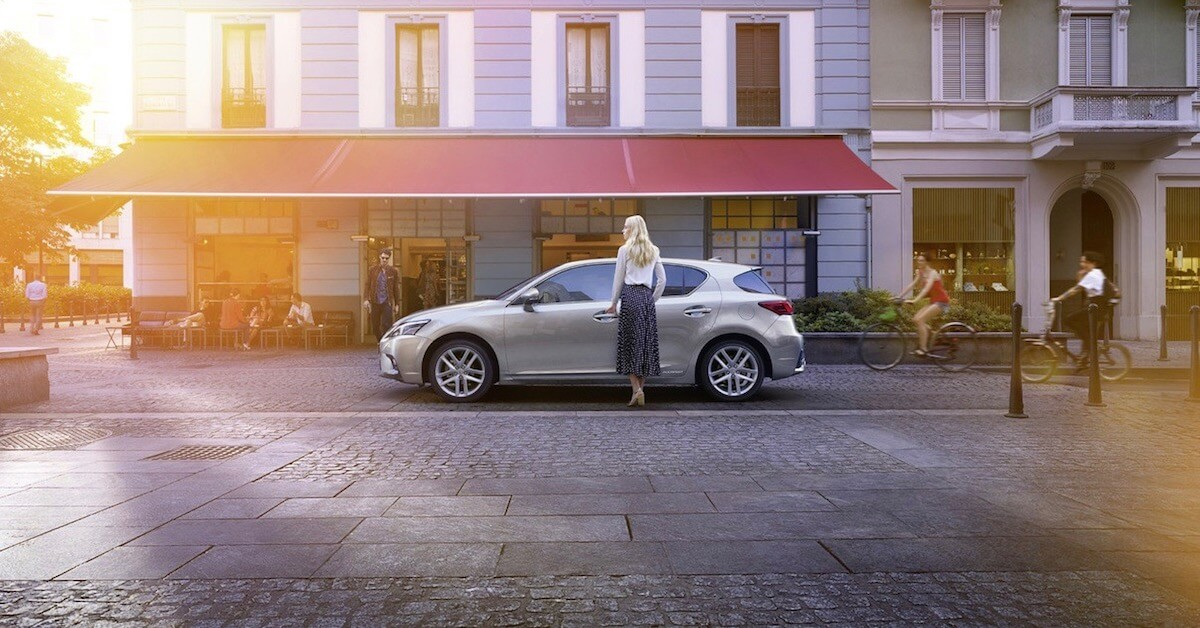 Lexus CT200h goedkope hybride